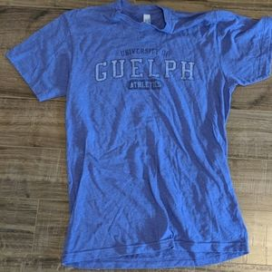 University of Guelph t-shirt, size M